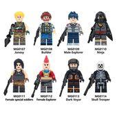 Lego toys fortnite soldat schädel trooper bausteine minifigur ziegel ninj …   – Fortnite Lego