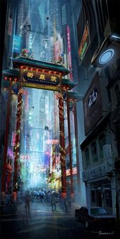 Showcase of Thoughts Blowing Idea Artwork of Futuristic Cities