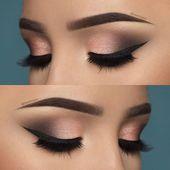 Smoky Eye Make-up Schritt für Schritt, perfekt und in Minuten! – #Eye #Makeup #Minu …   – Bilden