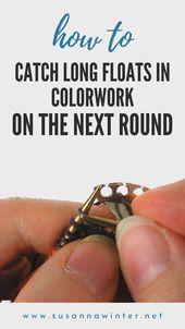 So fangen Sie lange Posen in der nächsten Runde in Colorwork :: talvi stricken.