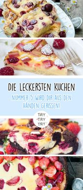 20 pasteles de verano para tu mesa de café   – Essen