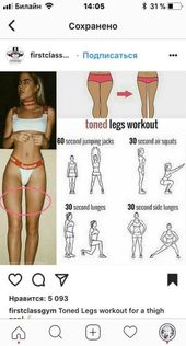 Sport Motivation Körper Fitness Gym 41 Ideen #Übungsplan Sport Motivation Kör