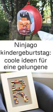 Ninjago-Kindergeburtstag: coole Ideen für eine erfolgreiche Party 3   – Lego