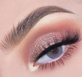 41 Top Rose Gold Make-up-Ideen, die aussehen wie eine Göttin – Make-up – #aus   – Make-up