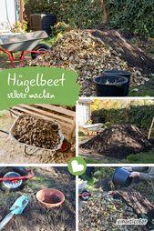 Erstellen Sie ein Hügelbett – einfacher als ein Hochbeet, aber genauso effektiv   – Garten