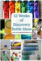 52 Wochen Entdeckungsflaschen-Ideen für Kinder