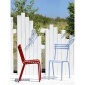 Click Sessel / Kunststoff & Armlehnen Bambus – Houe – Schwarz HoueHoue