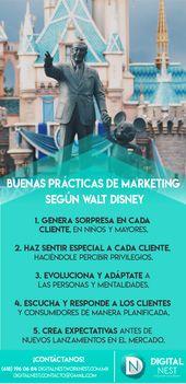 Buenas prácticas de marketing según Walt Disney