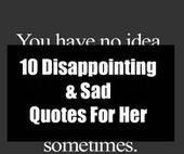 10 Disappointing & Sad Quotes For Her – Monday blessings