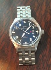 quality design c6c94 05ce7 AUCTION / IWC GST TITANIUM CHRONOGRAPH IW370703 | IWC | Iwc ...