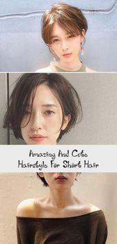 Erstaunliche und nette Frisur für kurzes Haar