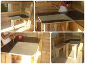 Réalisation d'une cabane de jardin ( pour enfant )