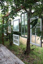 10 Möglichkeiten, um alte Holzfenster in Ihrem Haus aufzurüsten
