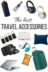 Globe Guide's tried and tested, all-time favourite travel accessories  travel-accessories    This image has get 0 repins.    Author: Claire Elizabet…