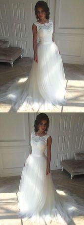 Fantastiska coola idéer: Rustika bröllopsklänningar Långa tåg bröllopsklänningar trånga …