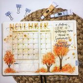 15 Cozy Bullet Journal Layouts Perfect For Fall