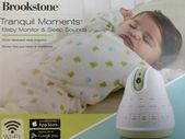 Brookstone Babyphone & Schlafgeräusche   – Leather diaper bag backpack
