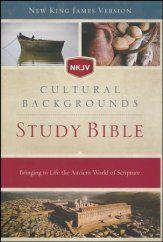 Nkjv Cultural Backgrounds Study Bible Hardcover Bible Study Bible Passages Scripture Reading