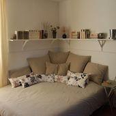 37 Kleine Schlafzimmer Designs und Ideen für die Maximierung Ihres kleinen Platzes, der Pop – Dekoration ideen 2018