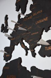 Push Pin Reise Welt karte Holz Pin Karte der Welt Wand Haus Kunst Wanderlust Geschenk für Frau Mann benutzerdefinierte Weihnachten Reise-Liebhaber-Geschenk