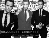 "I could listen to Barney Stinson say ""challenge accepted"" all day."