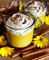 Tanya's Kitchen's healthy coconut pumpkin smoothie   Ingredients: 2 cups…