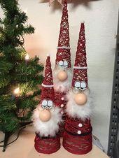 So leicht könnt ihr Weihnachtsschmuck basteln – Bastelideen für Weihnachten – … – brottbacken