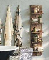 10 beautiful DIY shelves that you should have in your bathroom
