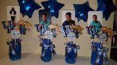 Graduation Centerpiece Vase Picks Party Party by MMCreations44 - # Final Centerpiece Vase #aus # # by # MMCreations44