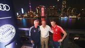 Besuch bei Siemens, Chillen auf der Audi Night – FC Bayern München – FC Bayern München