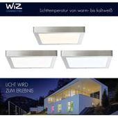 Brilliant Leuchten Ag / Bre-light Led Deckenleuchte, 30x30cm, Smart Home, Lichtfarbe steuerbar, nick