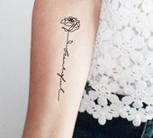 Neue Zitat Tattoos & Fonts – Neu Tattoo Designs