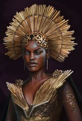 ArtStation – Gold Queen, Alina Shutko