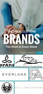 10 Ethical Clothing Brands You Need to Know About