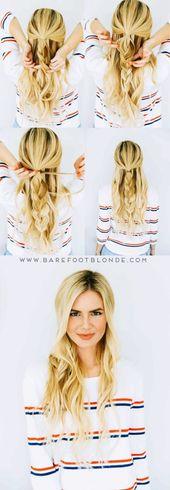 25 Absolut neue und einfache Frisuren, die 2018 (vor jedermann) getestet werden sollten-#absolut #einfache #frisuren #getestet #jedermann