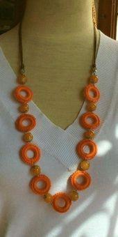 New Crochet Jewelry #Bijoux Necklace 42+ Ideas # Crochet- #Bijoux # Crochet #Ideas …  – Jewelery …   – 5 Min DIY