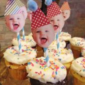 Easy First Birthday Cake Ideas For Boys Easiest Diy Cupcake Toppers For A First Birthday Party 3 Favorite – River's first birthday
