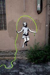 Street Art Magic on   – urban stencil art