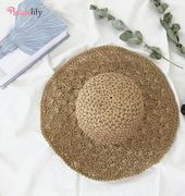 Straw Crochet Hollow Foldable Dome Beach/Sun Hats – Fashion Hats At Bridelily