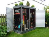 The perfect garden cabinet for small gardens. Every cubic centimeter of storage space w …   – INNEN + ORDNUNG