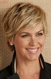 30 cortes de cabelo curtos simples e clássicos para mulheres acima de 50   – Short Haircuts for Women Over 50