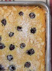 Kirschmandel-Blatt-Kuchen   – Cake Recipes