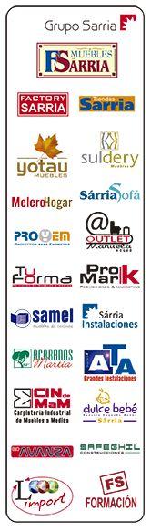 las marcas del grupo sarria somos una empresa en constante expansin y slida