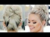 7 Super Easy Ways To Make A Messy Bun    Easy Mess #Bun #Buns #easy #Messy #mess...,  #Bun #B...
