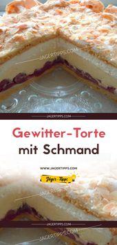 Gewitter-Torte Mit Schmand