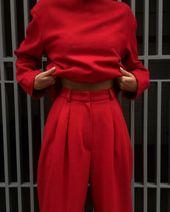 All red outfit: u043au0440u0430u0441u043du04…