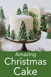 A delicious vanilla cake from the preppy kitchen with creamy, dreamy vanilla …