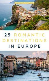 European Honeymoon: The Most Romantic Locations in Europe