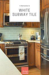 4 Alternatives to a White Subway Tile Backsplash