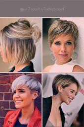 Haarschnitte für kleine Frauen #zierlichefrauen #locken #damen #stirn #oliviapalermo
